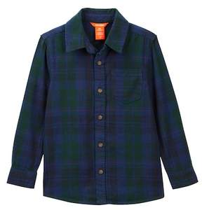 Joe Fresh Plaid Flannel Shirt (Little Boys & Big Boys)