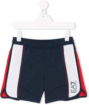 Trunks Ea7 Kids logo swim shorts