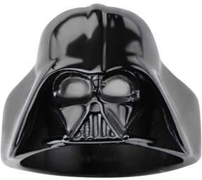 Star Wars Men's Stainless Steel Darth Vader 3D Black IP Ring