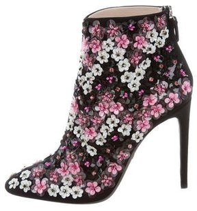 Giambattista Valli 2016 Embellished Ankle Boots w/ Tags