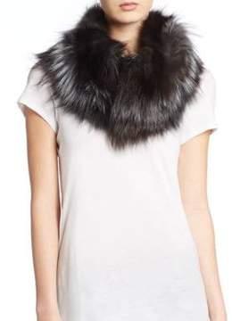 Saks Fifth Avenue Fox Fur Scarf
