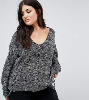 Alice & You Relaxed Sweater With Threading