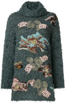 Antonio Marras appliqué detail oversized jumper
