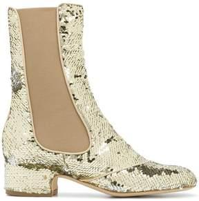 Laurence Dacade sequin embellished boots