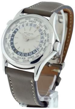 Patek Philippe World Time 5110G 18K White Gold Mens Watch
