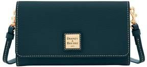 Dooney & Bourke Pebble Grain Daphne Crossbody Wallet - BLACK BLACK - STYLE