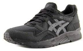 Asics Gel-lyte V Youth Round Toe Synthetic Black Running Shoe.