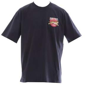 Edwin Men's Blue Cotton T-shirt.