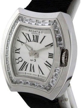 Bedat & Co No.3 18K White Gold Womens Watch