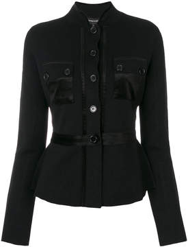 Emporio Armani fitted jacket with a cinched waist