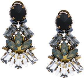 CITYSHOP embellished clip-on earrings