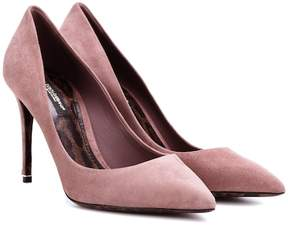 Dolce & Gabbana Kate suede pumps