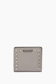 Rebecca Minkoff Midnighter Small Snap Wallet - GREY - STYLE