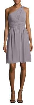 Donna Morgan Rhea One-Shoulder Dress