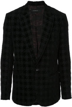 Roar patterned blazer
