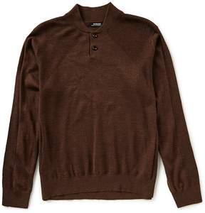 Murano Modern Performance Henley Sweater