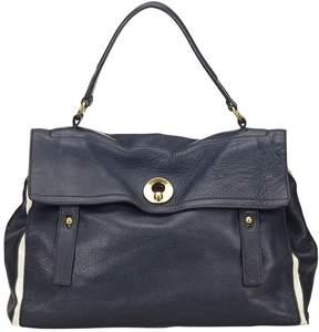 Saint Laurent Muse leather handbag - BLUE - STYLE