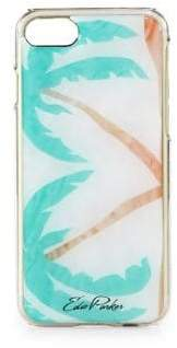 Edie Parker Palm Trees iPhone Case