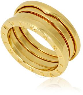 Bvlgari B.Zero1 18K Yellow Gold 3-Band Ring - Size 7