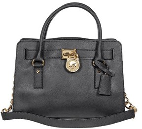 MICHAEL Michael Kors Hamilton East West Satchel - BLACK - STYLE