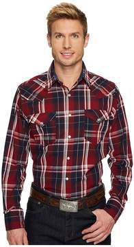 Roper 1243 Dark Indigo Plaid Men's Clothing