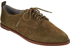 ED Ellen Degeneres As Is Leather Lace-up Oxford Shoes - Kulver