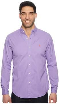 Polo Ralph Lauren GD Chino Long Sleeve Sport Shirt Men's Clothing