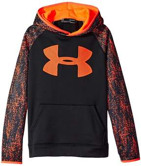 Under Armour Kids Armour Fleece Big Logo Printed Hoodie Boy's Sweatshirt