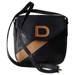 Delvaux Vintage Black Leather Handbag