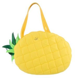 Kate Spade Wing It Pineapple Tote w/ Tags - YELLOW - STYLE