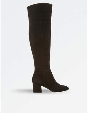Dune Spears knee-high suede boots