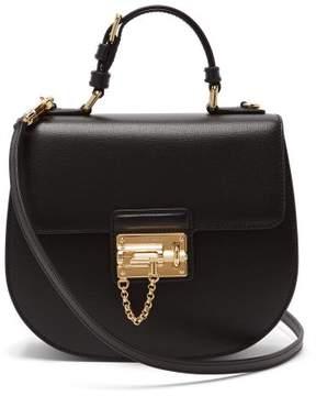 Dolce & Gabbana Monica Vintage Leather Bag - Womens - Black