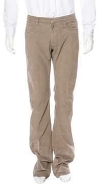 Christian Dior Straight-Leg Corduroy Pants