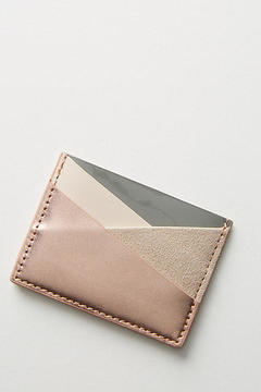 Anthropologie Iris Card Case