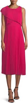 Club Monaco Maray Popover Sleeveless Midi Dress