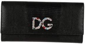 Dolce & Gabbana Sheet Continental Wallet - BLACK - STYLE