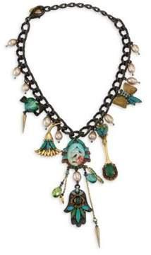 Erickson Beamon Emerald City Crystal Necklace