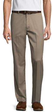 Claiborne Slim Fit Flat Front Pants