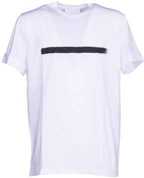 Neil Barrett Brushstroke Print T-shirt From