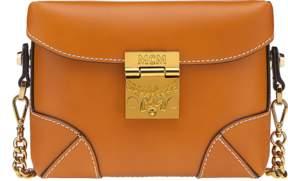 MCM Soft Berlin Belt Bag In Vachetta Leather