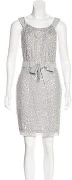 Christian Dior Embellished Silk Dress