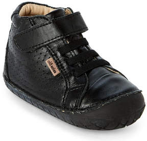 Old Soles Toddler Boys) Black Pave Cheer Leather Shoes