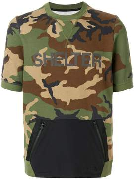 The North Face Black Label Shelter camouflage T-shirt