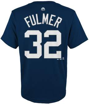Majestic Boys 4-18 Detroit Tigers Michael Fulmer Player Name and Number Tee