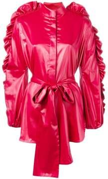 Ellery ruffled sleeve jacket