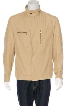 Trussardi Canvas Harrington Jacket