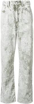 Our Legacy faded regular trousers