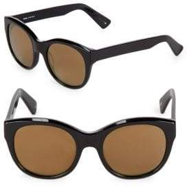 Cat Eye 52MM Dolly Mirrored Cat-Eye Sunglasses