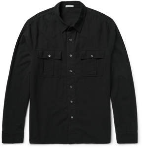James Perse Slim-Fit Cotton-Gauze Shirt