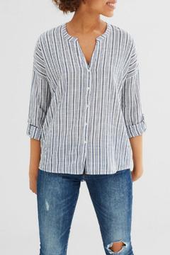 Esprit Vertical Stripe Blouse Top